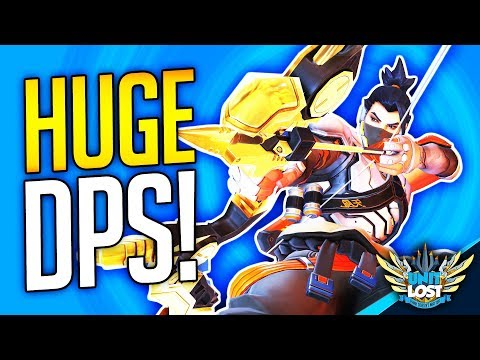 Overwatch - New Hanzo The DPS MONSTER! (Too Strong?)