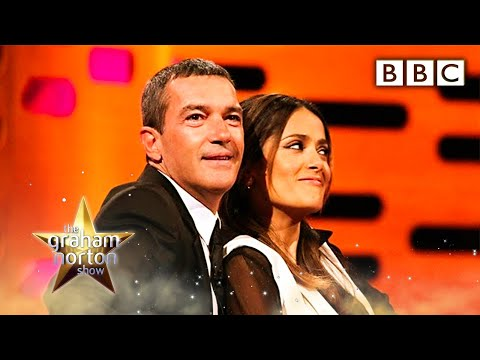 Salma Hayek's Breasts - The Graham Norton Show - Series 10 Episode 7 - BBC One