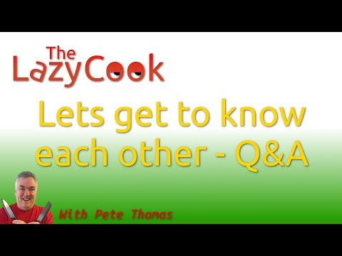 Lets get to know each other - Q&A