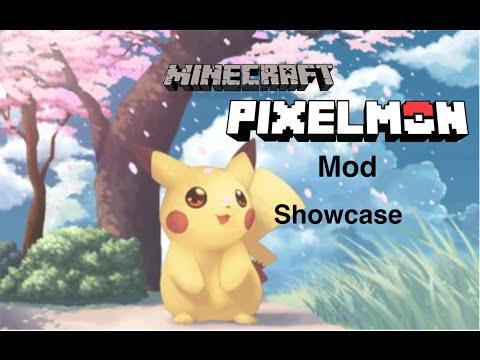 Pixelmon Mod Showcase: Minecraft 1.7.10