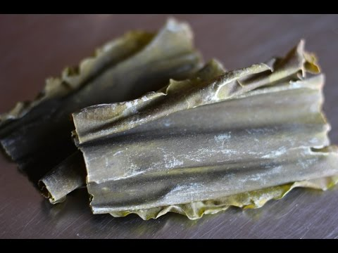 Japanese Ingredients: Kombu - Japanese Cooking 101