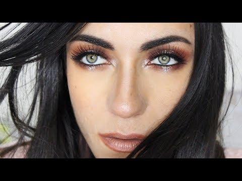 Sparkle Halo Eye Makeup Tutorial | MakeupAndArtFreak