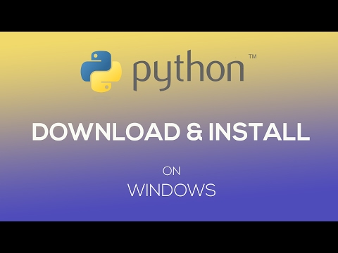 How to Download and Install Python 3.6 in Windows 7/8/8.1/10