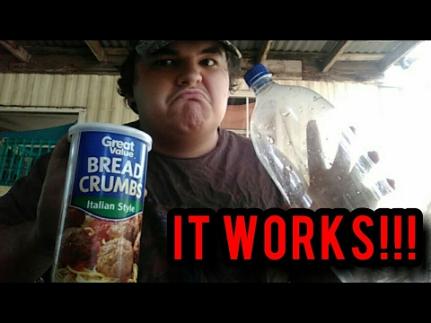 How to make a bait fish trap out of a 2 LITER BOTTLE!!!