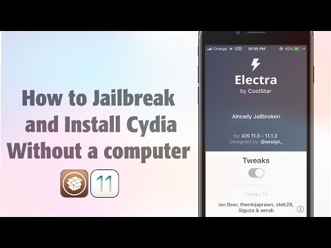 How to Jailbreak and Install Cydia on iOS 11 - 11.1.2 without a COMPUTER