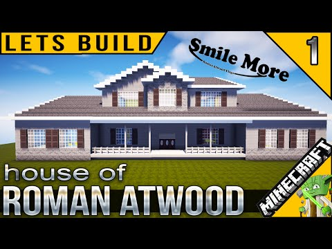 Roman Atwood's House in Minecraft