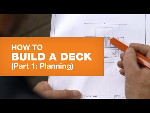 HOW TO BUILD A DECK PART 1: PLANNING