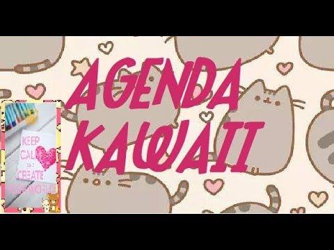 COMO CREAR UNA AGENDA EN WORD (KAWAII)