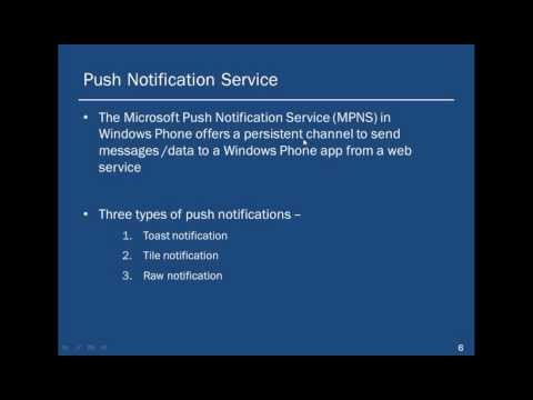 Copy of Push Notification Service for windows phone