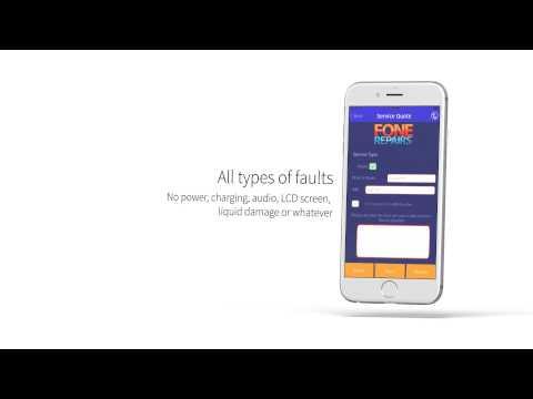 Fone Repairs UK Mobile App on Apple App Store IOS