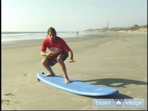 How to Surf : How to Pop Up on a Surfboard