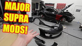 My Toyota Supra BUILD OFFICIALLY BEGINS!!