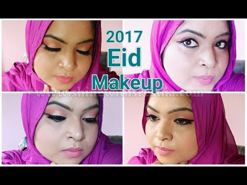 Eid Makeup Look 2017 | GRWM | Double Winged Eyeliner |