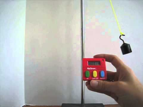 Measuring the Period of a Pendulum: 10 Cycles