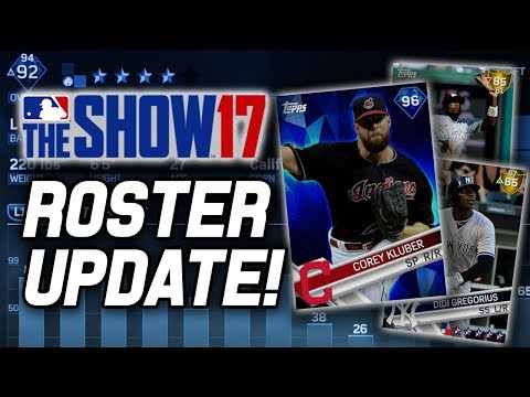 KLUBER UPGRADED & A BUNCH OF NEW GOLDS! | MLB The Show 17 Roster Update