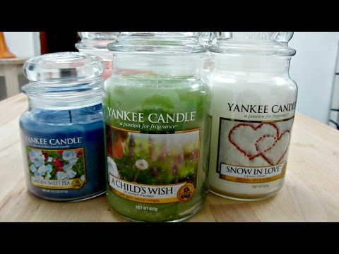 First Ever Haul Video ~ Yankee Candles