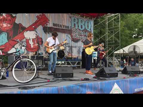 The Georgia Flood -'Catfish Blues' @ Decatur BBQ Blues & Bluegrass Fest 8-12-17