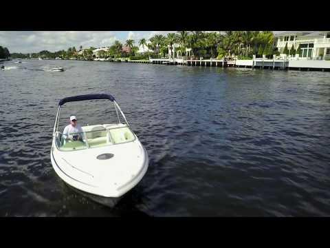 Drone Boat Landing in Choppy Water