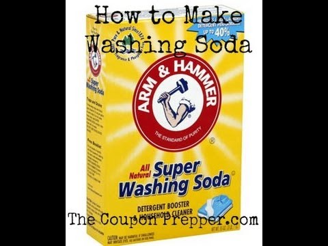 How to Make Washing Soda