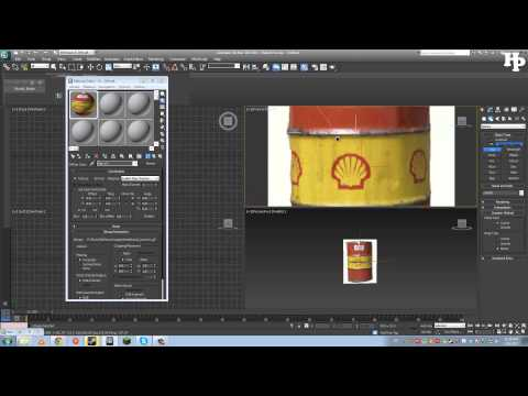 How to Create a Rusty Barrel in 3Ds Max - Modelling | Part 1