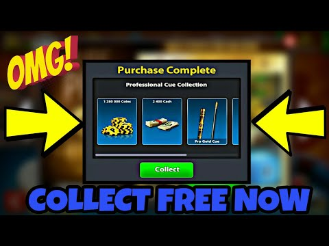 How To Get Free 2400 Cash + Free Pro Gold Cue || Collect Now