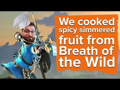 We Cooked Spicy Simmered Fruit from Zelda Breath of the Wild