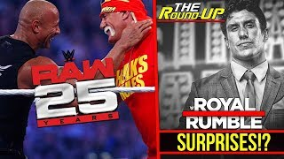 ROYAL RUMBLE Possible Surprises!? WWE Signing Top Talents!, The Rock Status! - #TheRoundUp #222
