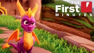 Spyro Reignited Trilogy: The 14 First Minutes Of Spyro The Dragon