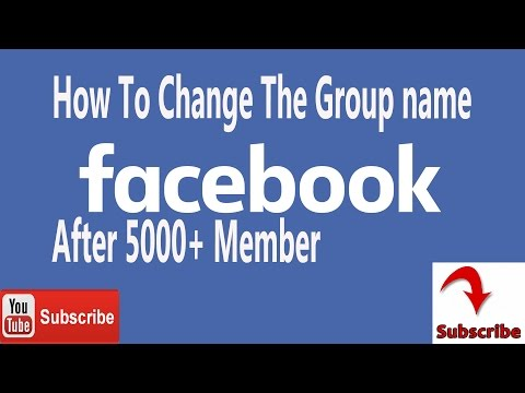 How to change the Group name    On  facebook Urdu/Hindi Tutorial