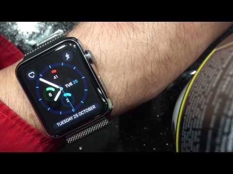 Changing between  Km And Miles on Apple Watch