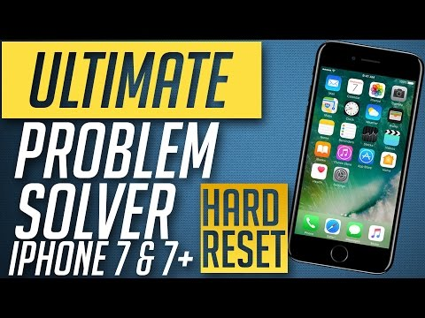 Ultimate Fix to all iPhone 7 & 7 plus Problems ( Force Restart / Hard Reboot )
