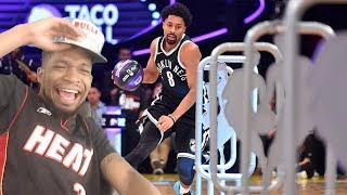 WHO THE HELL IS THIS!?? 2018 NBA SKILLS CHALLENGE!