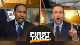 Stephen A. and Max debate: Warriors