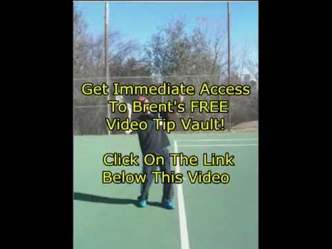 Tennis Serve Lesson: Tossing Arm from CoachMyVideo.com and Brent Abel