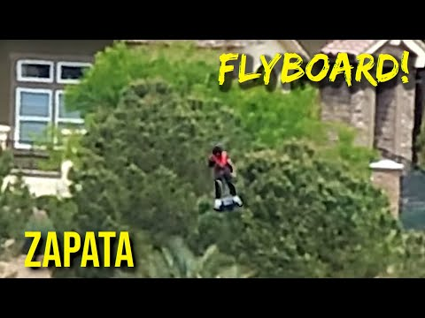 The Flying Man (Jet Powered Flyboard)