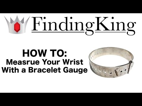 How To Measure Your Wrist Using a Bracelet Size Gauge