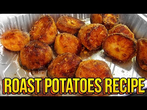 Roast Potatoes Recipe | EASY, CRISPY, TASTY