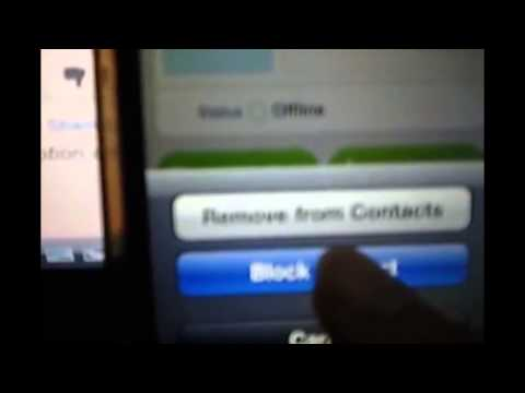 How to block/ delete a friend from Skype permanently on iphone/ipod