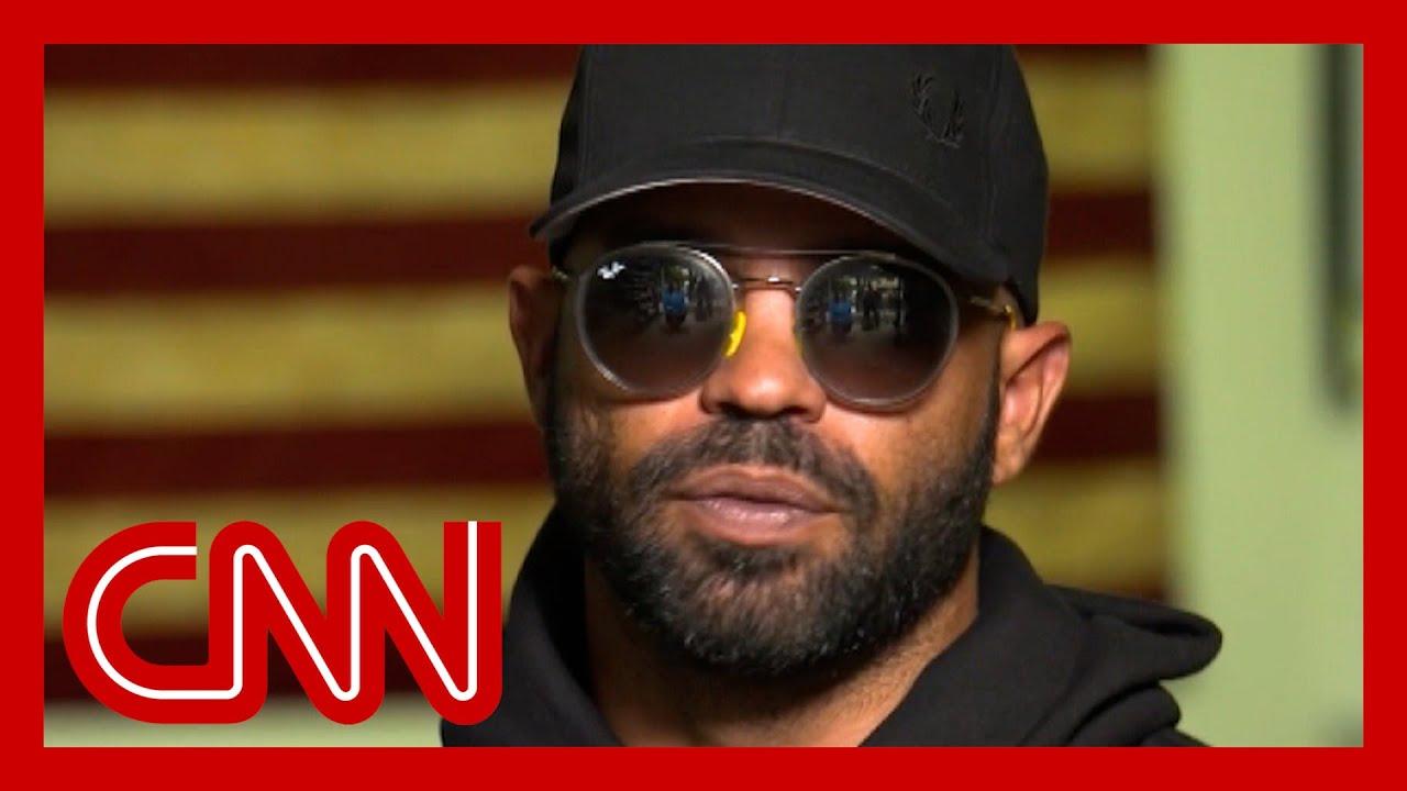 Leader of the Proud Boys speaks with CNN's Sara Sidner