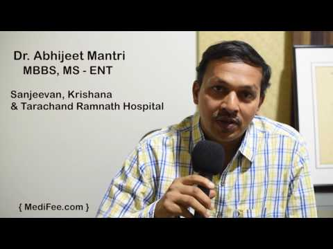 Meet Dr. Abhijeet Mantri - Otorhinolaryngologist (ENT Specialist) from Pune