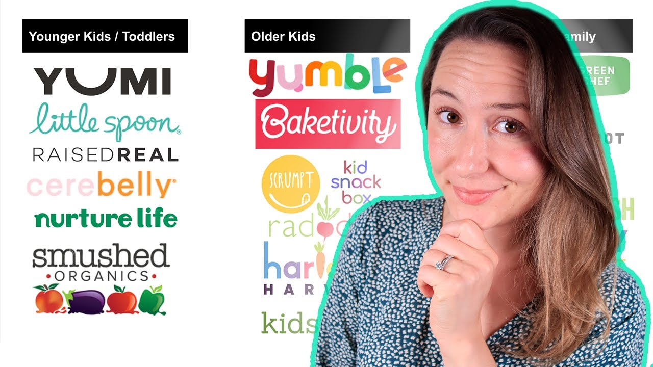 Food Delivery Comparison for Kids and Families | Meal Kits for Kids