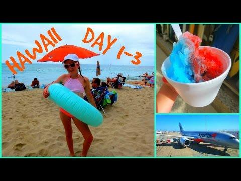 Hawaii Vacation Vlog  🌴 Day 1-3 Waikiki 🌴
