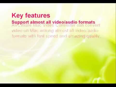 how to can convert video on Mac among almost all video&audio formats