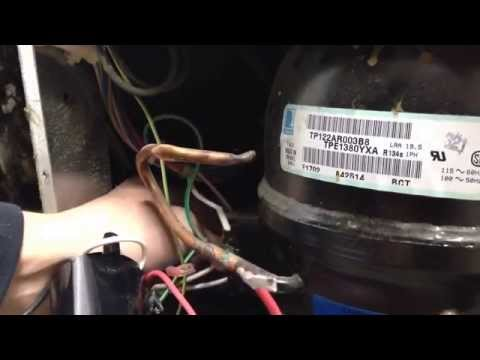 How To Fix Refrigerator Compressor That Won't Start Up Or Cool Refrigerator Bad Hard Start