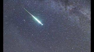 Meteor Makes A Smoke Ring