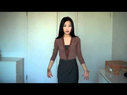 How to Wear/Style a Cardigan and Pencil Skirt Outfit for Work