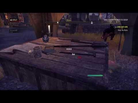 Elder Scrolls online | iron/steel ignot farming, quick blacksmith xp (Ebonheart pact)