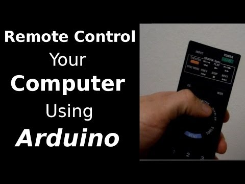Fast Hacks #17 - Remote Control your Computer using Arduino