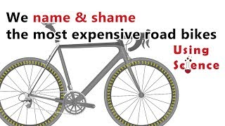 What is the most expensive worst value road bike? (according to science)