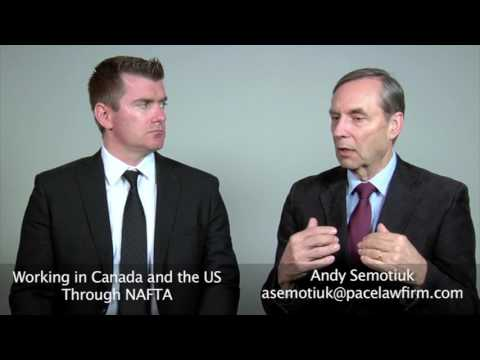 Working in Canada and the US Through NAFTA